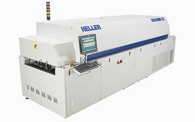 Przebudowa linii produkcyjnej – 9 strefowy piec Heller plus transportery płytek