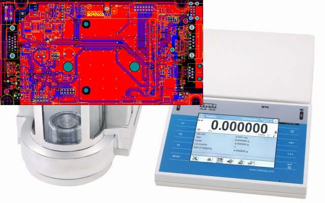 Wdrożenie do produkcji elektroniki do rodziny wag laboratoryjnych serii Y