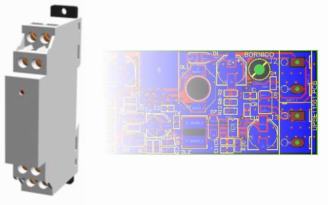Finał projektu miniaturowego modułu UPS na szynę DIN